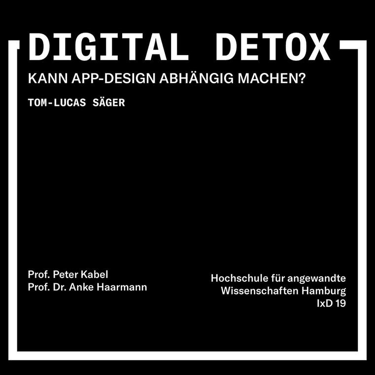 Titelbild Digital Detox